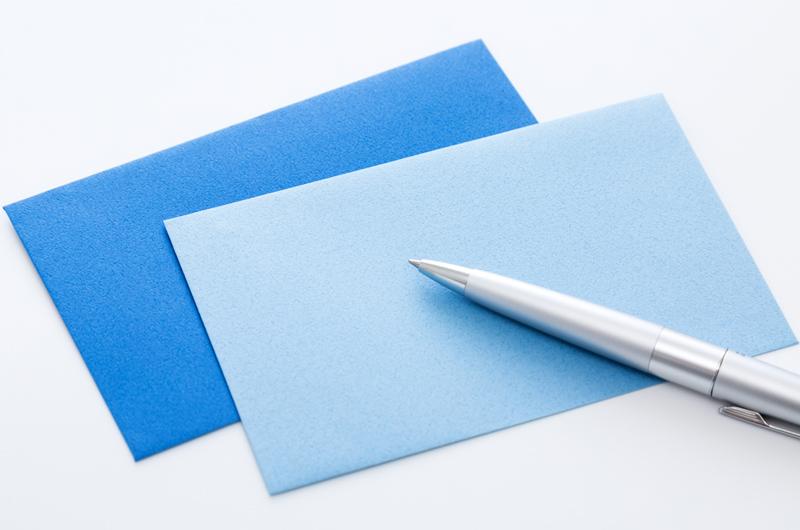 封筒の書き方やビジネスマナーについて
