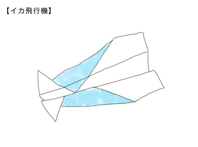 イカ飛行機