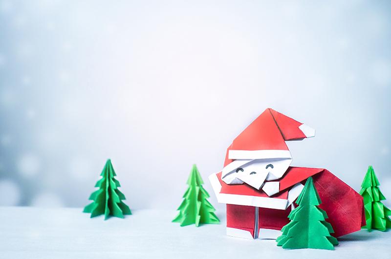 飾り付けにおすすめ!クリスマス用折り紙の折り方