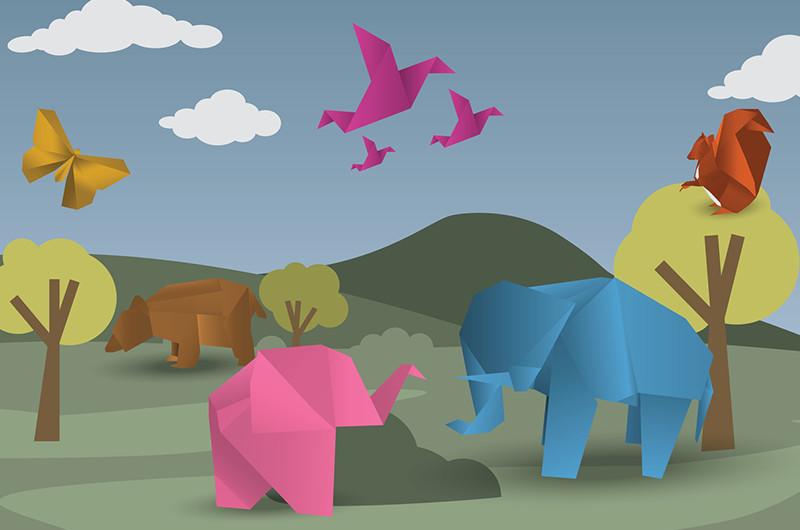 いろいろ作りたい!折り紙で作る動物の折り方