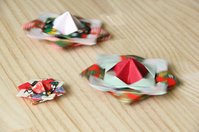 回して遊べる!折り紙で作るこまについて