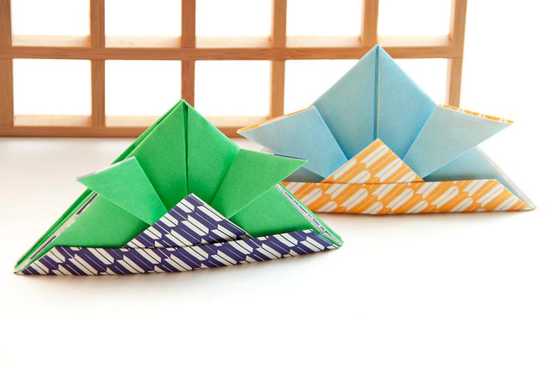 折り紙で作るかぶとの折り方について