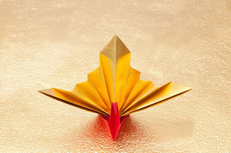 祝い鶴(飾り鶴)の折り方