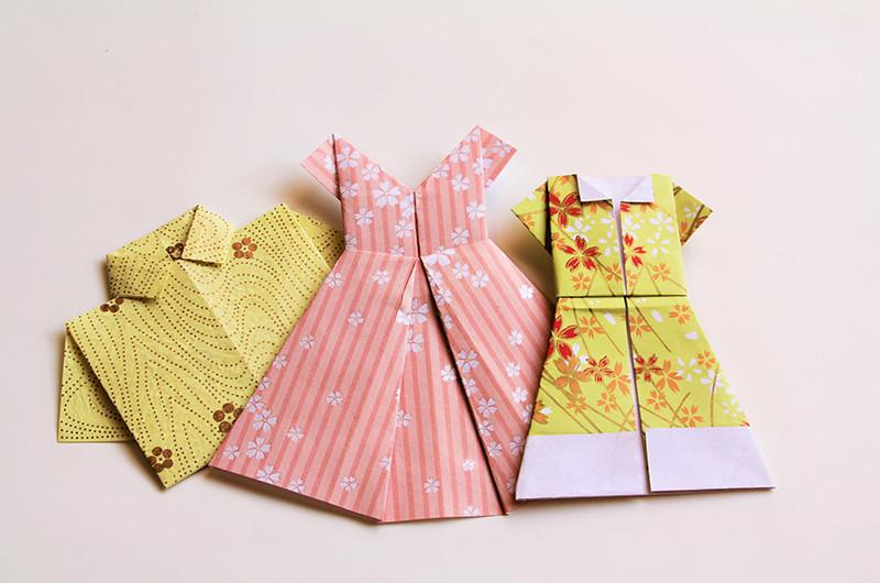 オシャレな折り紙の折り方