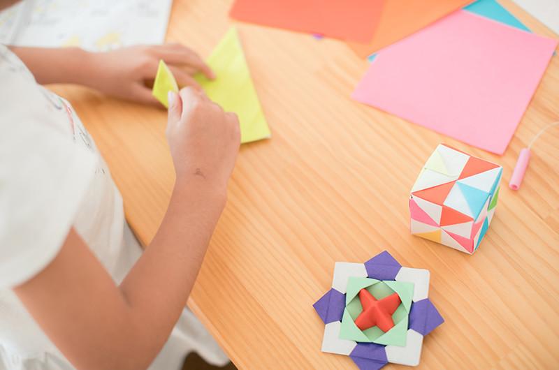 簡単なものから難しいものまで!折り紙のコツと色々な折り方