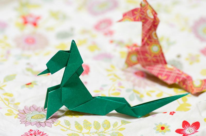カッコいい男の子に!折り紙で作るドラゴンの作り方について