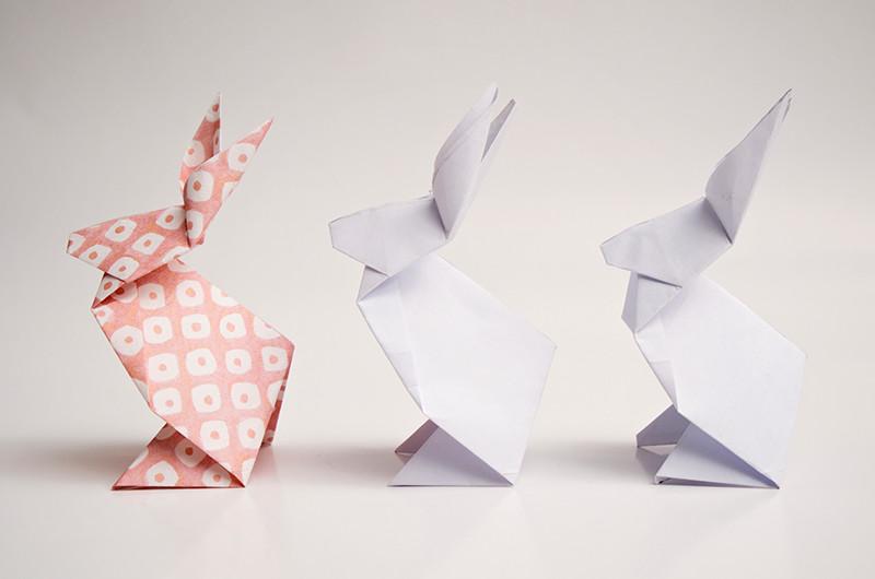 かわいく折ろう!折り紙で作るうさぎの作り方について