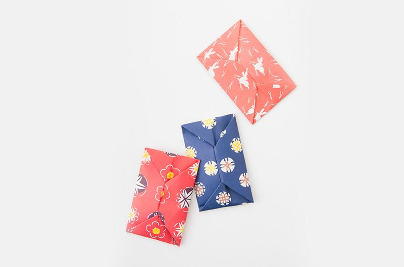 お正月や贈り物に!折り紙で作るポチ袋の折り方