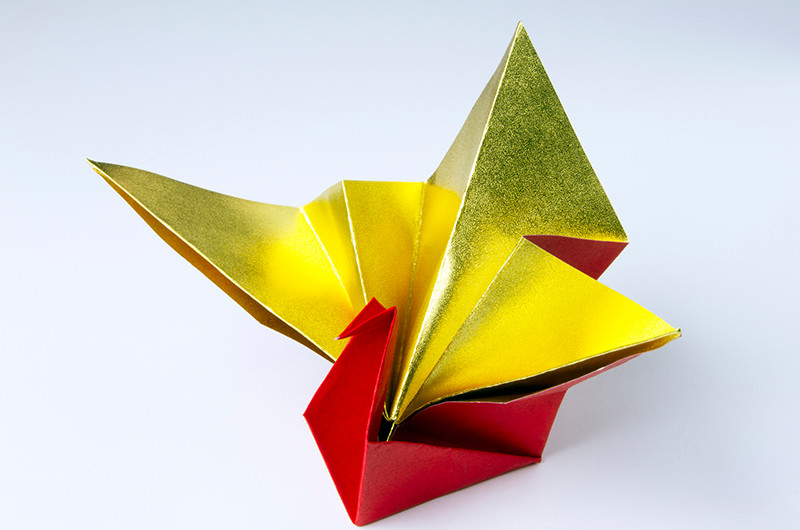 お正月に使える!折り紙の折り方について