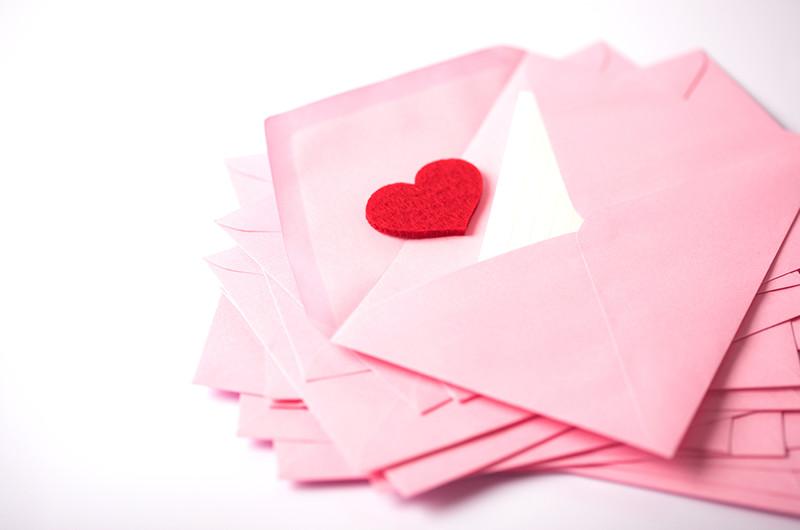 招待状を封筒で送る場合