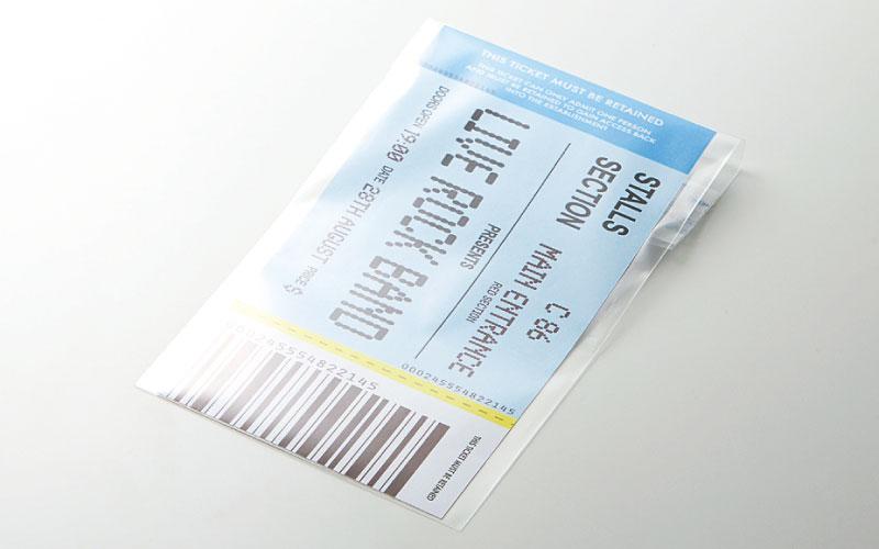 チケットサイズのOPP袋