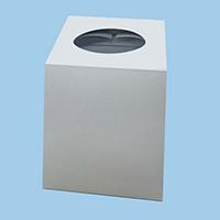 HEIKO 販促用品 抽選箱 白 1枚