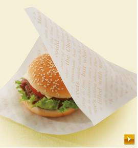 バーガー袋イメージ写真