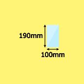幅100×高190mm