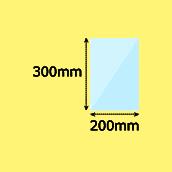 幅200×高300mm