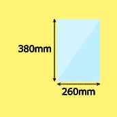 幅260×高380mm