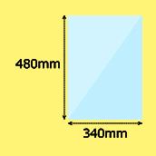 幅340×高480mm