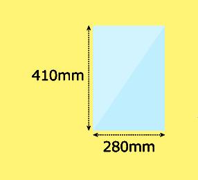 幅280×高410mm
