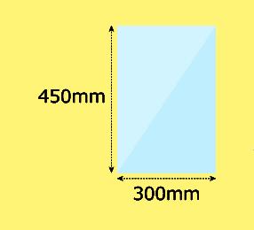 幅300×高450mm