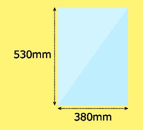 幅380×高530mm