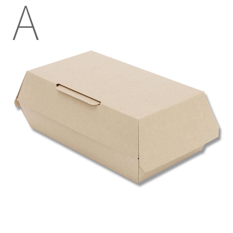 HEIKO 食品容器 ネオクラフトボックス ランチボックス M 20枚