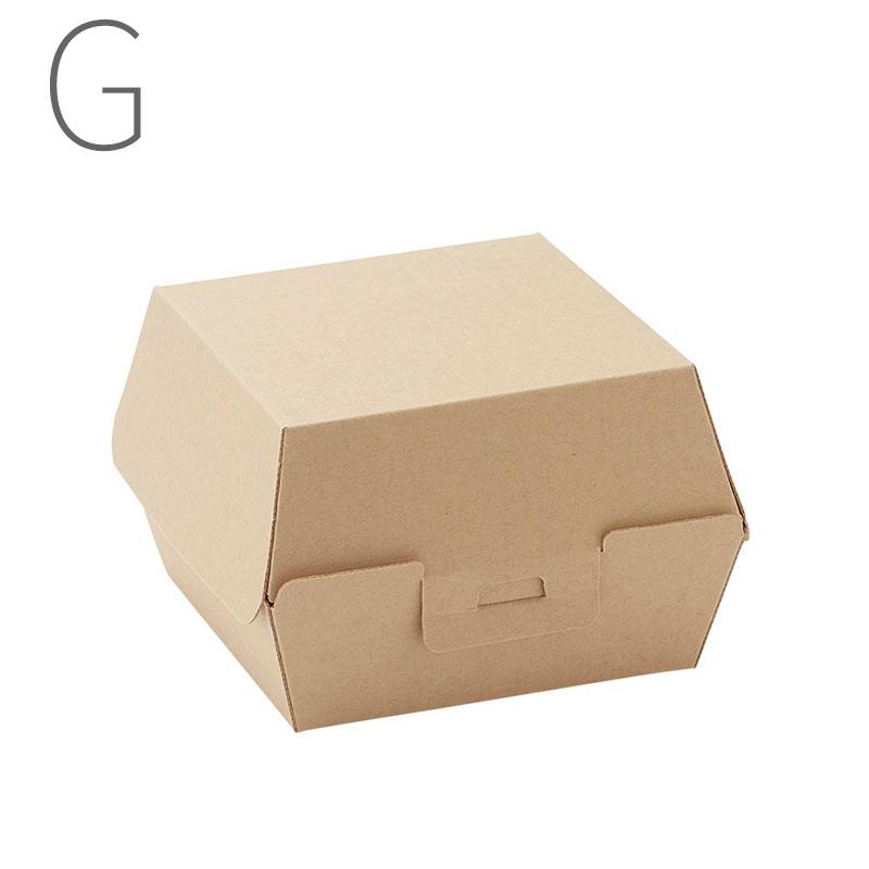 HEIKO ネオクラフト バーガーボックス L 20枚