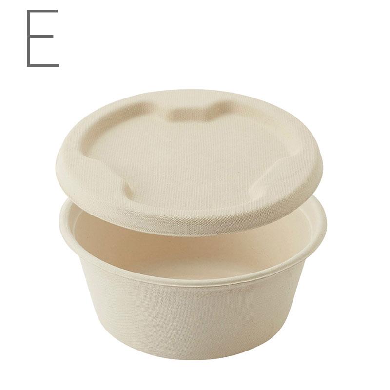 HEIKO 紙皿 バンブーペーパーウエア ボール蓋付 BB-18 20枚