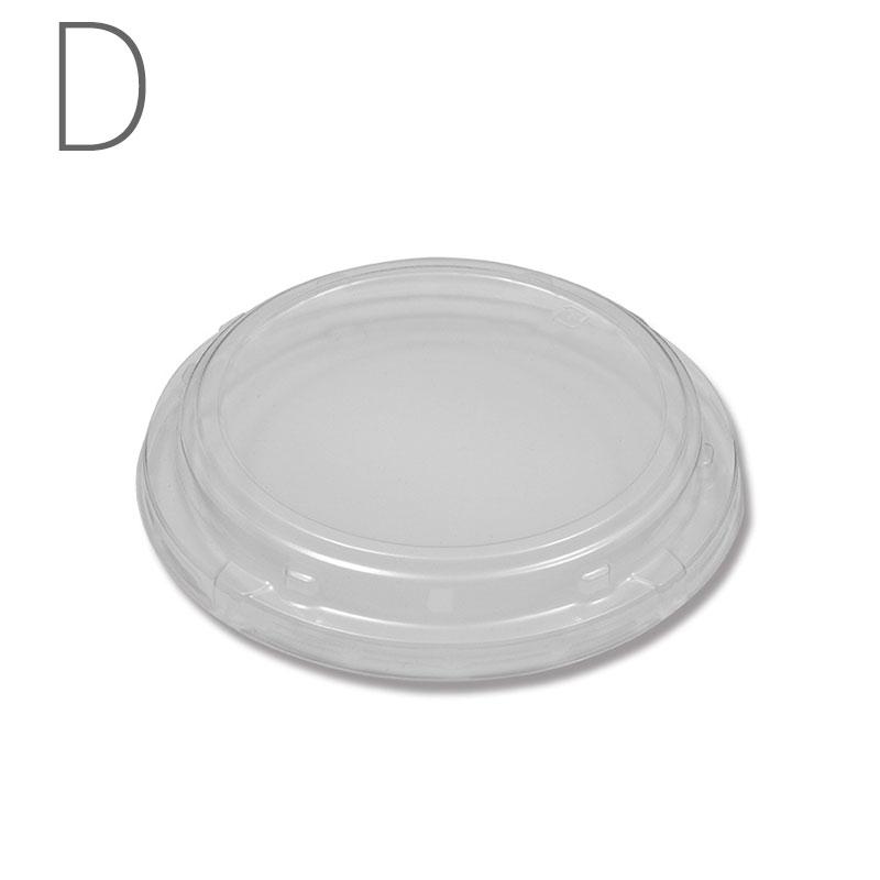 食品容器 ふぁるかたぼっくす 丸 148 透明フタ 100個