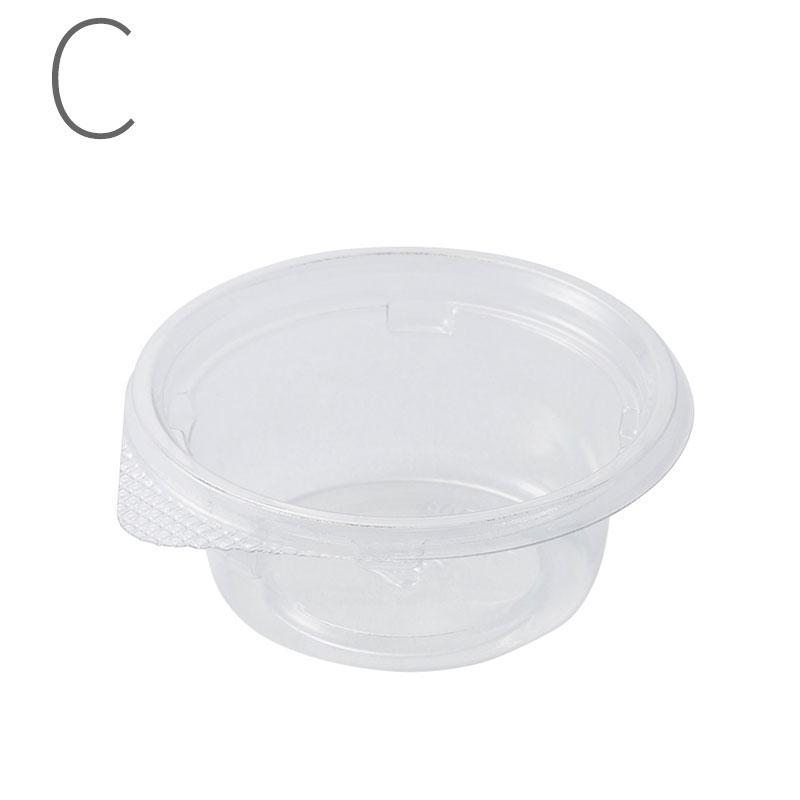 リスパック 惣菜容器 クリーンカップ 本体 内嵌合 60 BA クリアー 50枚