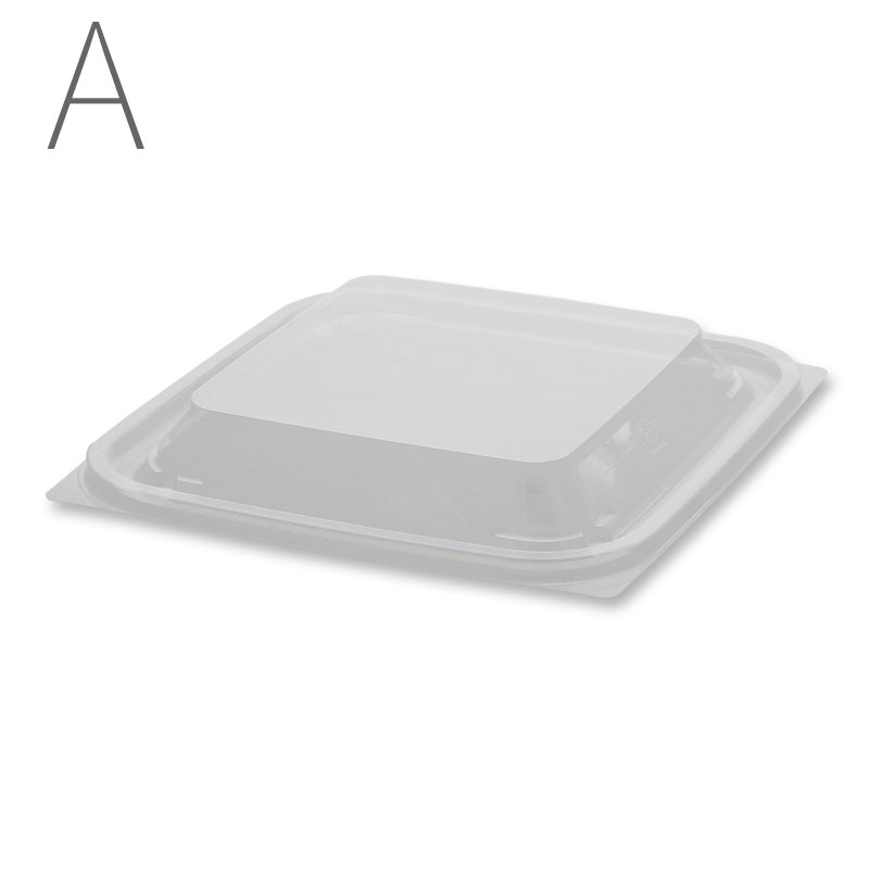 エフピコ 惣菜容器 内外嵌合蓋V FT-107用 50枚