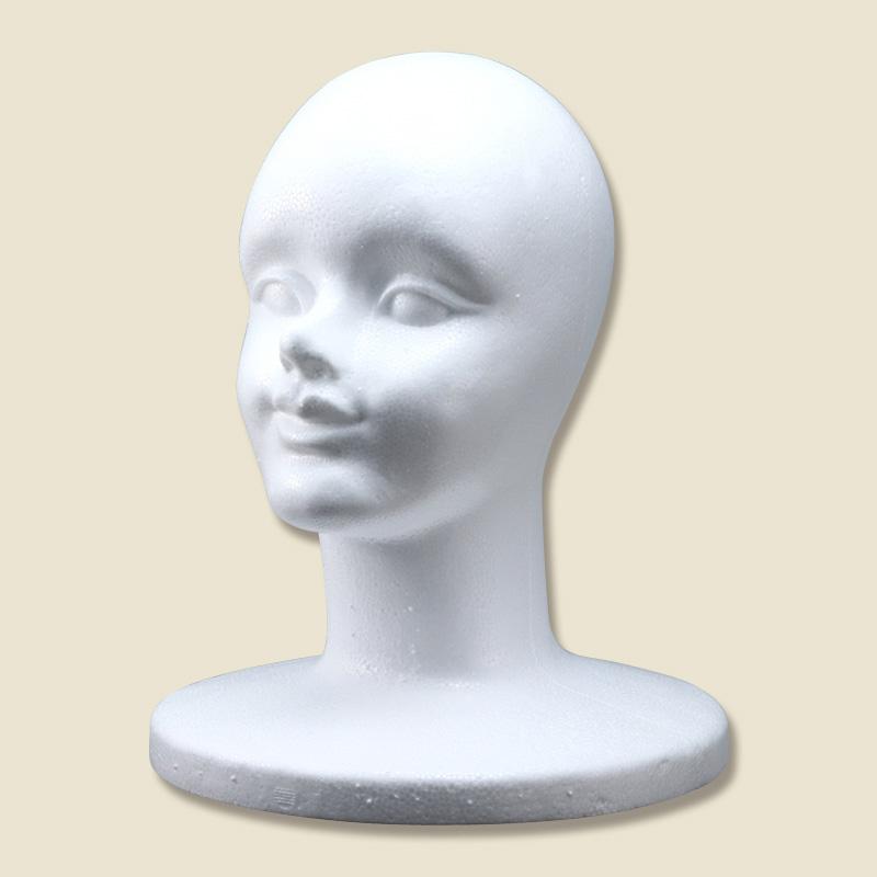 マネキン女顔 白 4562177922883 通販 | 包装用品・店舗用品のシモジマ ...