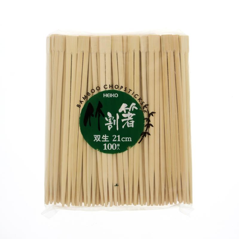 HEIKO 竹割箸 21cm 双生 100膳