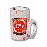 スコッチ 超透明テープS(住友3M) 15mm×35m 10巻パック