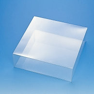 HEIKO 箱 クリスタルボックス スタンダードタイプ 特殊用途シリーズ リースL 1個(ご注文単位5個)