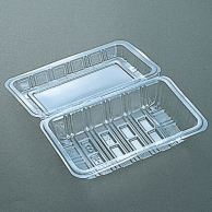 食品容器 フードパック(折蓋タイプ) H-2-A 中深 100枚