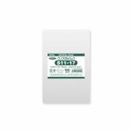 HEIKO OPP袋 クリスタルパック S11-17 (テープなし) 100枚