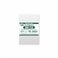 HEIKO OPP袋 クリスタルパック S8-12 (テープなし) 100枚