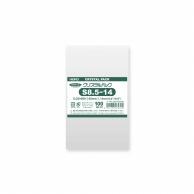 HEIKO OPP袋 クリスタルパック S8.5-14 (テープなし) 100枚