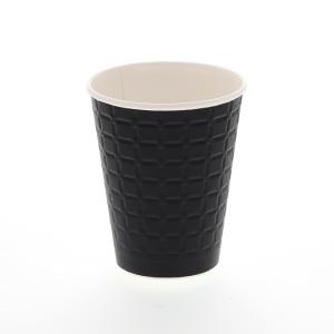 紙コップ モデレカップ 9オンス(260ml) ブラック 50個