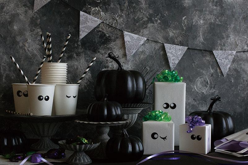 STYLE WRAPPING ~ハロウィンパーティにおすすめのラッピングアイディア~